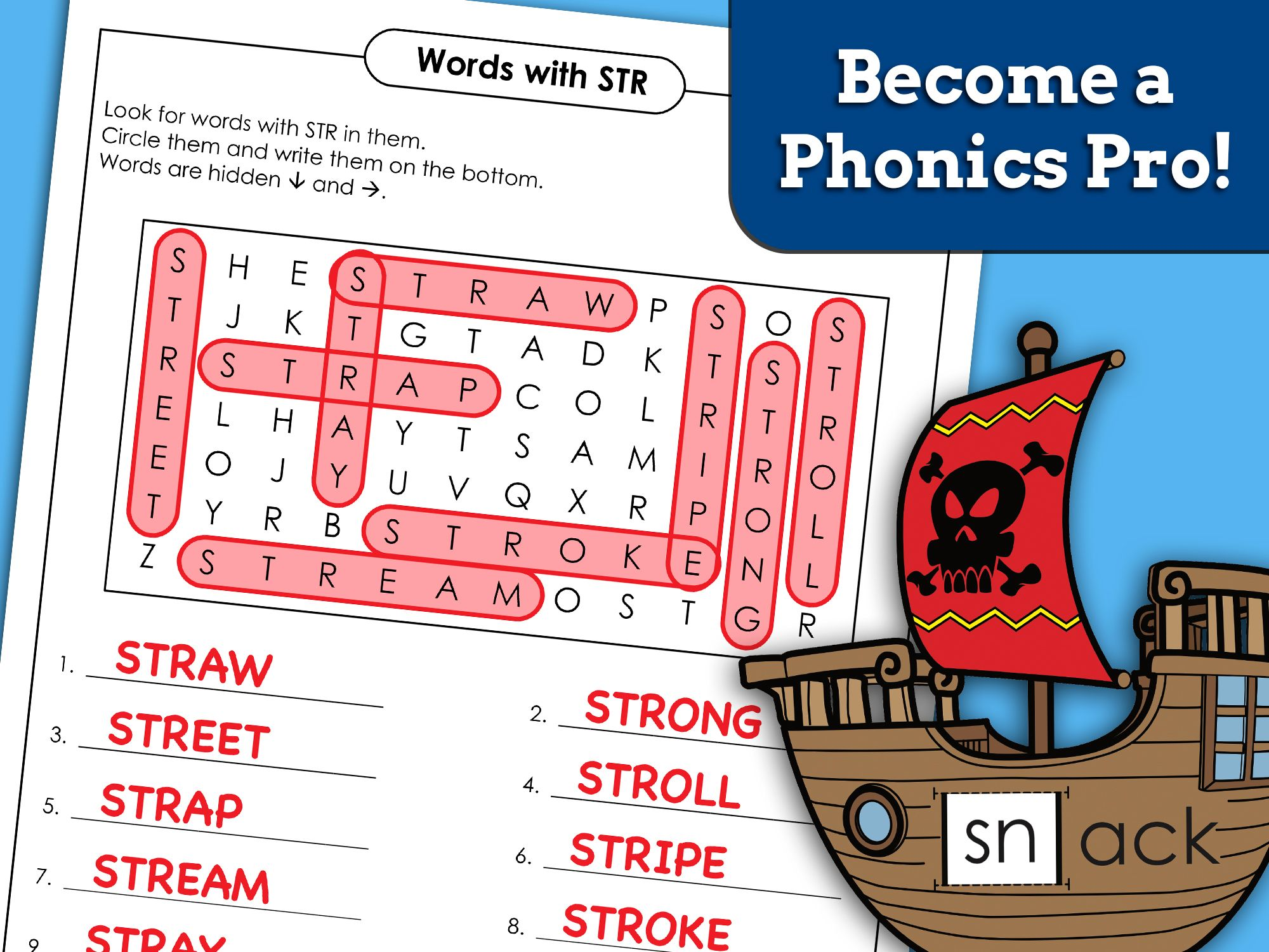 Become A Phonics Pro In
