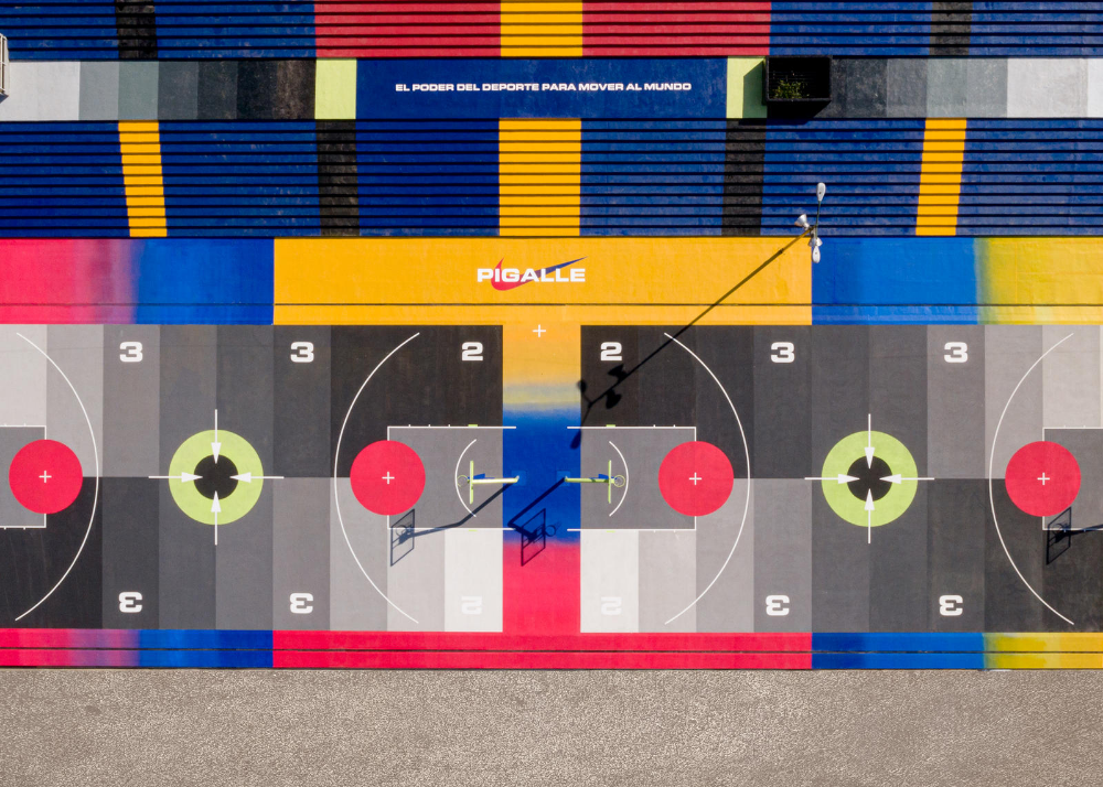 Stephane Ashpool Believes In The Power Of Sport To Move The World Pigalle Basketball Nike Outfits Basketball Court
