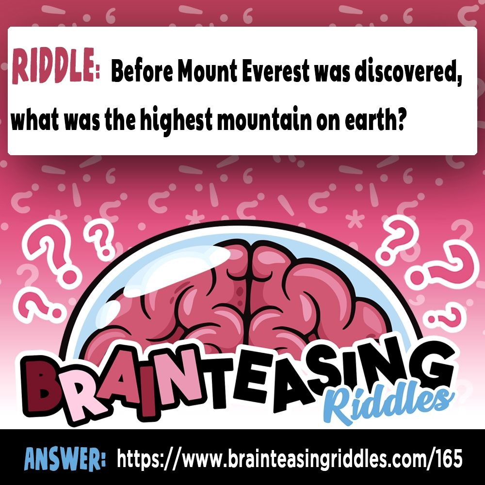 Before Mount Everest was discovered, what was the highest