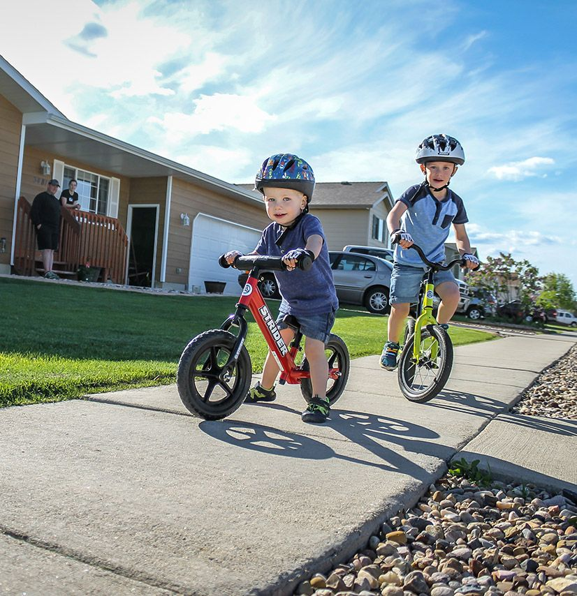 The Strider 14x Sport Balance Bike Quickly And Easily Transitions