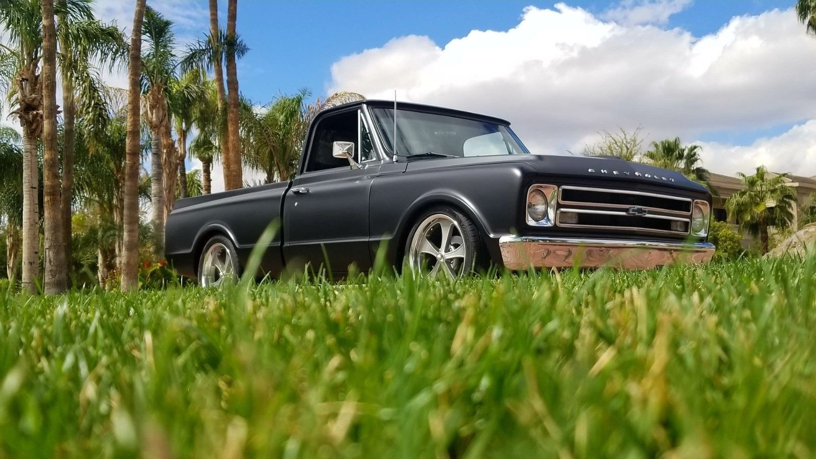 eBay 1971 Chevrolet C10 1971 C10 with 1968 front clip