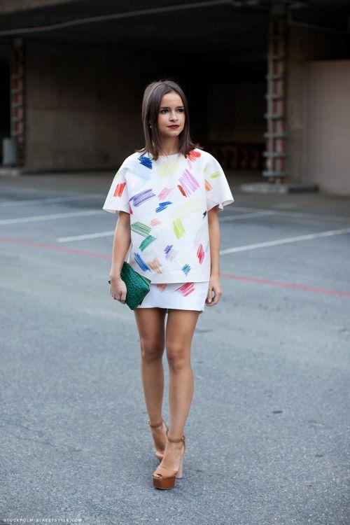 Wear: Miroslava Duma