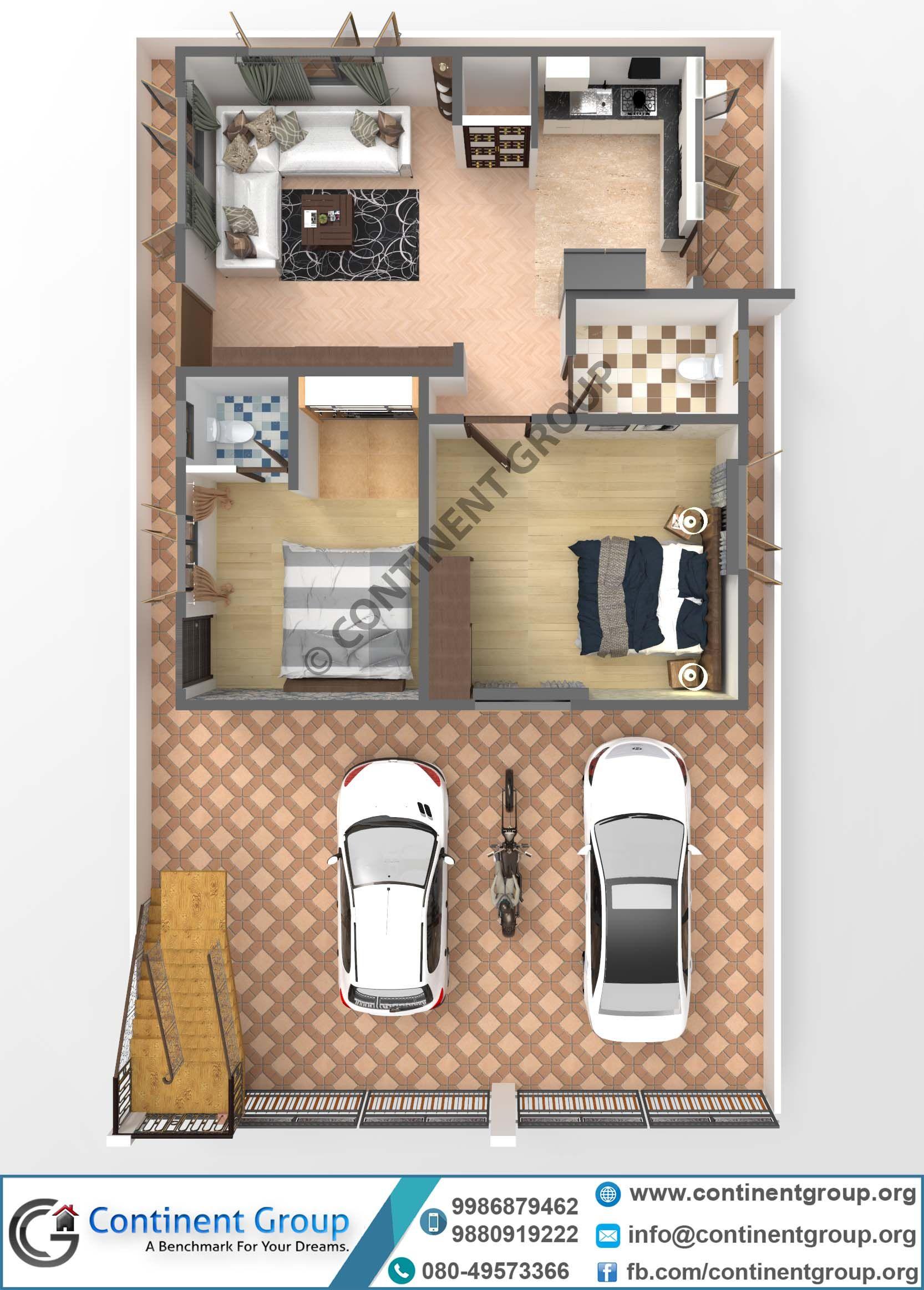 3d Floor Plan Building Plan Bangalore Top 3d Modern Plan Small House Elevation Design House Plans Building Design Plan