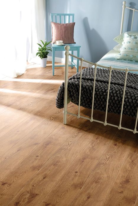 Check Out The Detailed Wood Grain Markings In This Naturafix Rustic English Oak Laminate Flooring From