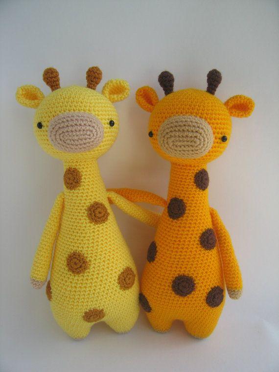 Giraffe Crochet Amigurumi Pattern Ohjaja Pinterest Häkeln