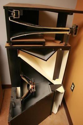 klipschorn goed geluid klipsch horn pinterest speakers speaker design and loudspeaker. Black Bedroom Furniture Sets. Home Design Ideas