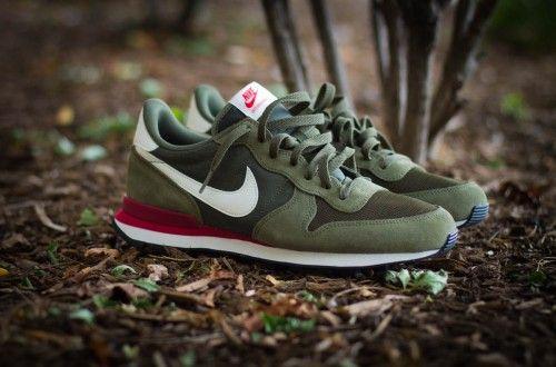 Nike Internationalist grün, grün und noch mal grün