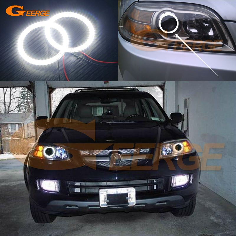 For Acura MDX 2004 2005 2006 Excellent Led Angel Eyes