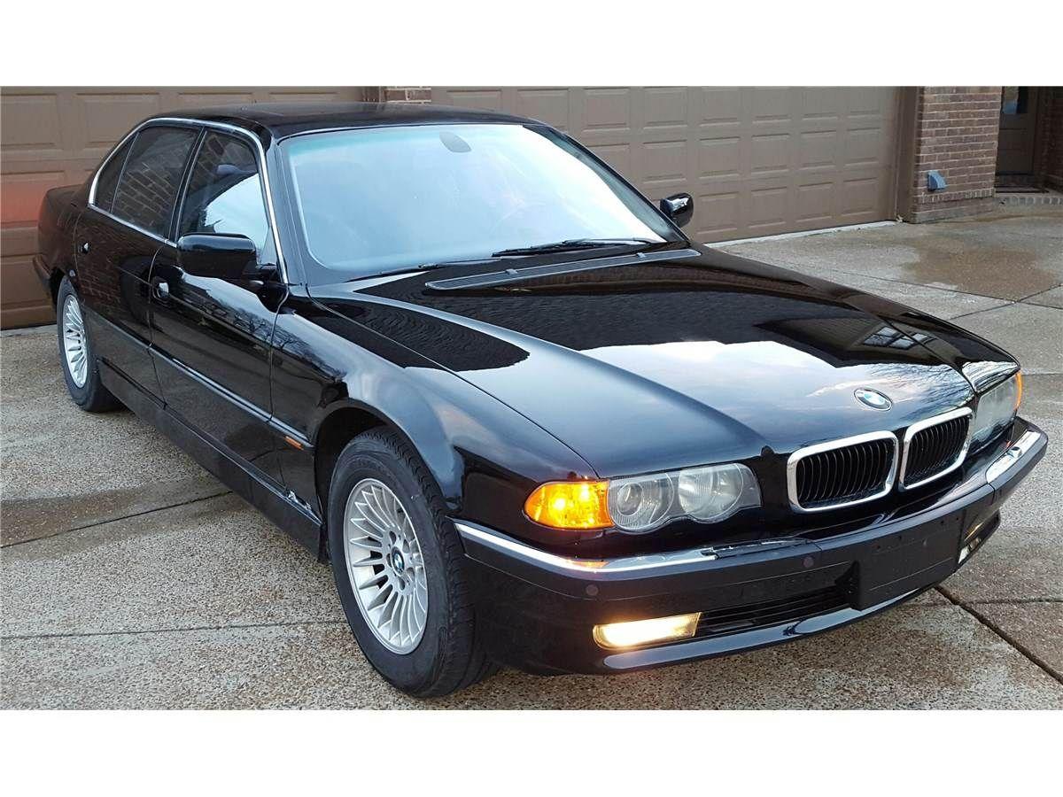 2000 BMW 750il V12 105k miles Service Records Bmw, The