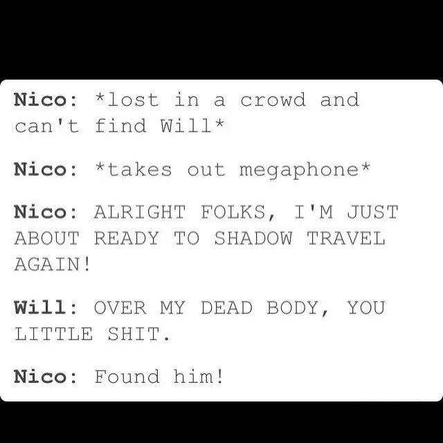 Will just cares too much about Nico, it's so ADORABLE!!!!