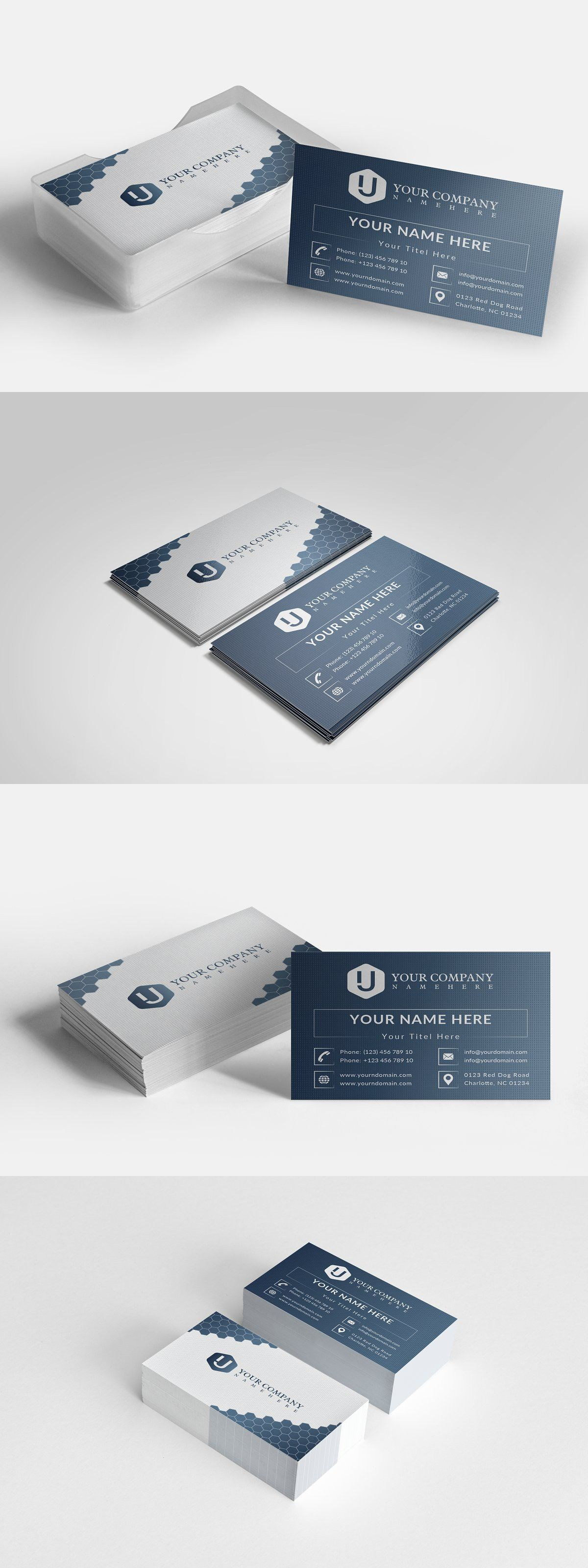 Business Card Corporate Business Card Find Fonts Postcard Design