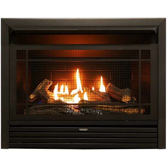 Hardwick Vent Free Recessed Natural Gas Propane Fireplace Insert Only With Remote Gas Fireplace Insert Ventless Fireplace Fireplace Inserts