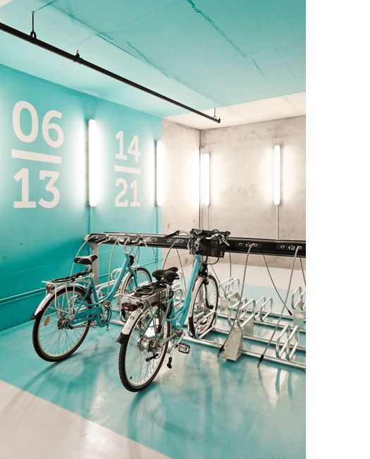 lighting project @ Bike rental station CTPM _ Perpignan / Sara Maroto Hebrero