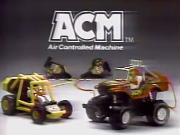 The Acm Air Controlled Machine Jeep Retro Toy Chest Pinterest