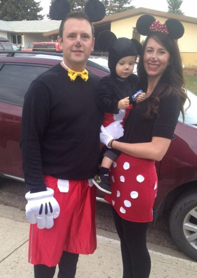 micky mouse minnie mouse baby micky mouse family halloween costume - Baby Mickey Mouse Halloween Costume