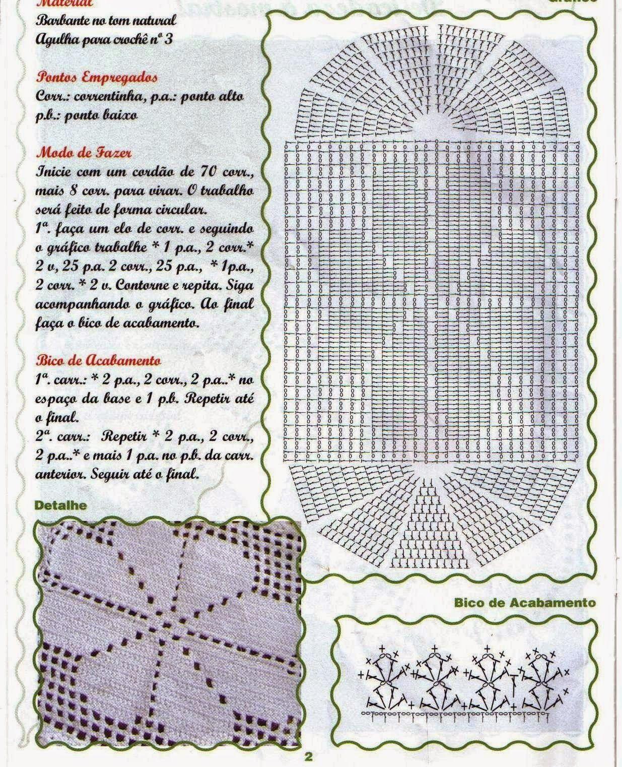 TAPETE+OVAL+COM+FLOR+CENTRAL-GRAFICO.jpg (1235×1522)   crochet ...