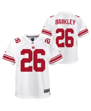 5602784e Nike Saquon Barkley New York Giants Color Rush Jersey, Big Boys (8 ...