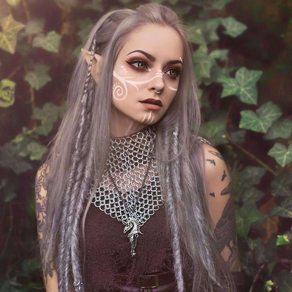 you.little.dark.one Fairy makeup, Elf cosplay, Costume