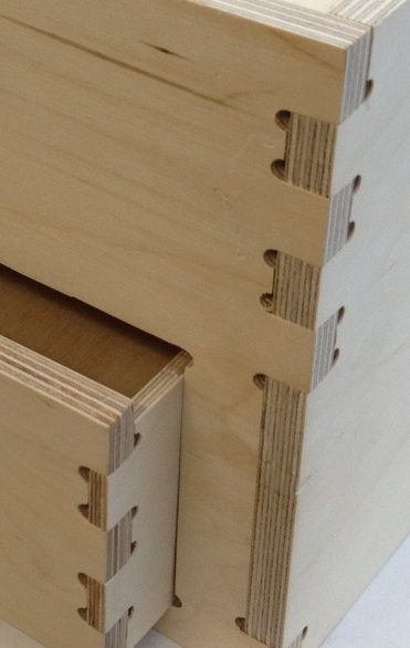 Plywood Corner Joints Old Chisels New Box