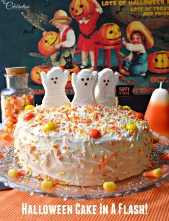 Halloween Cake In A Flash Halloween cakes, Cake and Halloween foods
