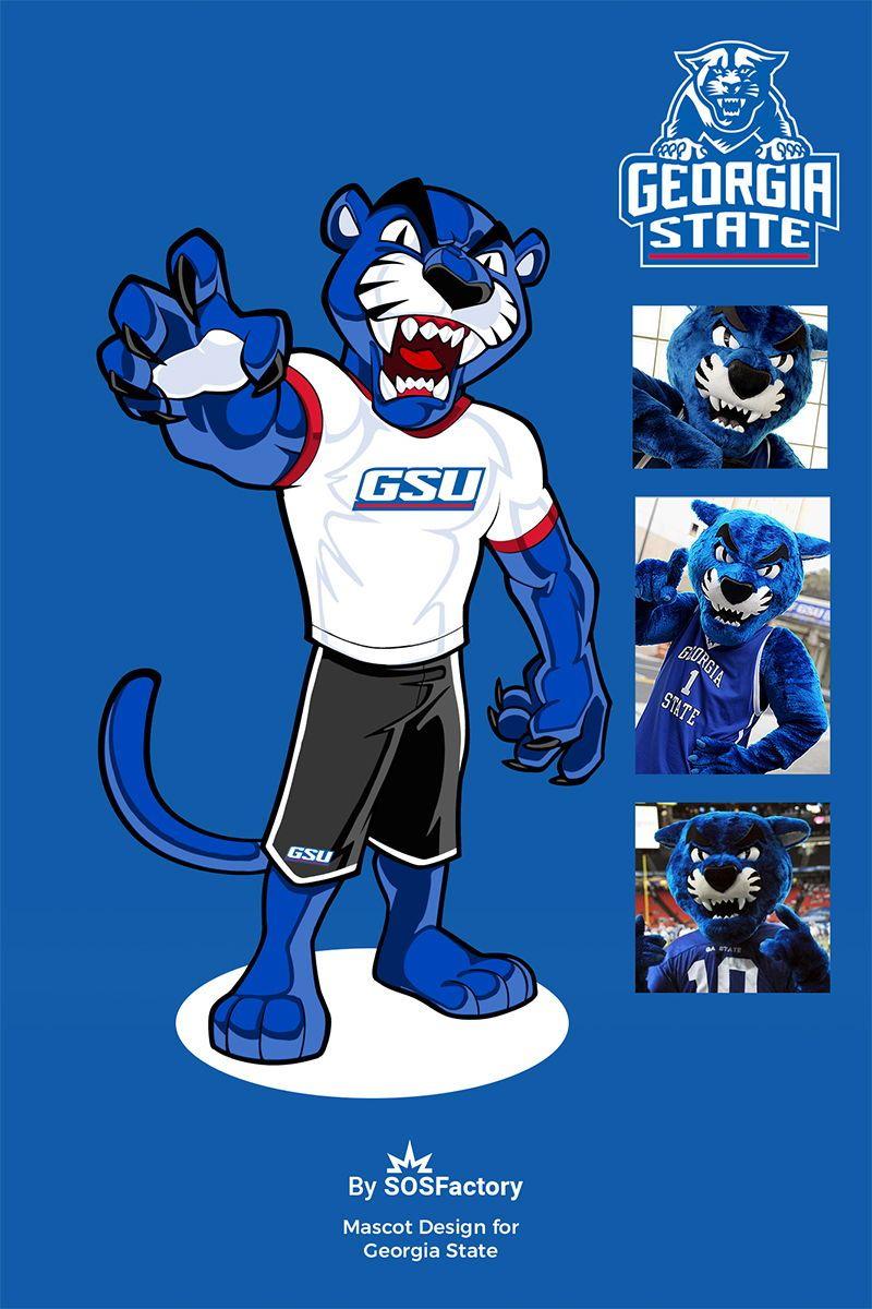 Summit Athletics in 2020 Mascot design, Character design