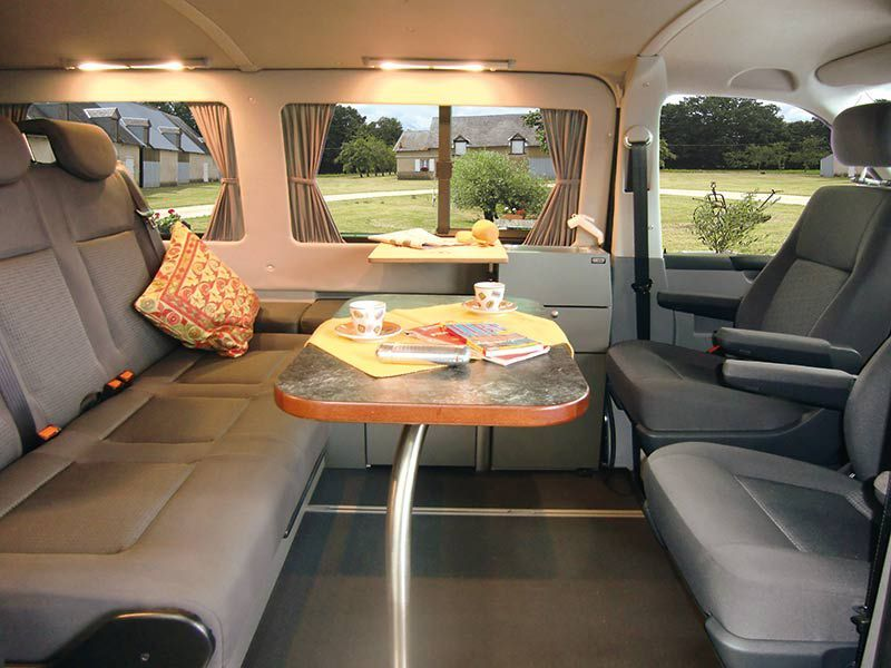 campingbus weekender plus innenraum in wohnstellung rv pinterest campingbus. Black Bedroom Furniture Sets. Home Design Ideas