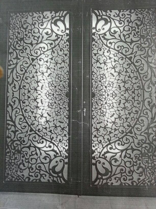 6mm steel cut by laser cnc designs pinterest steel for Door design cnc