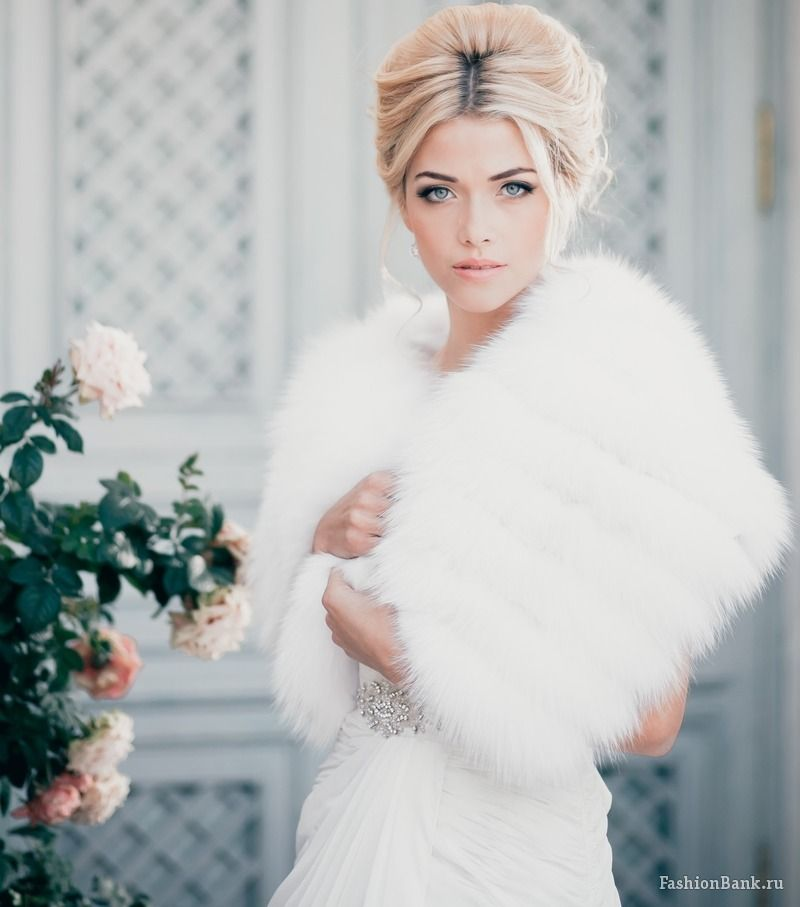 Winter Wedding Fur Cover Up