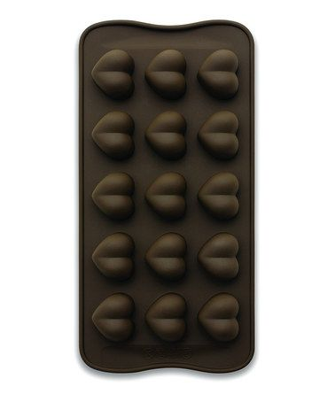 Look at this #zulilyfind! Heart Chocolate Mold by Scandicrafts Cuisine Internationale #zulilyfinds