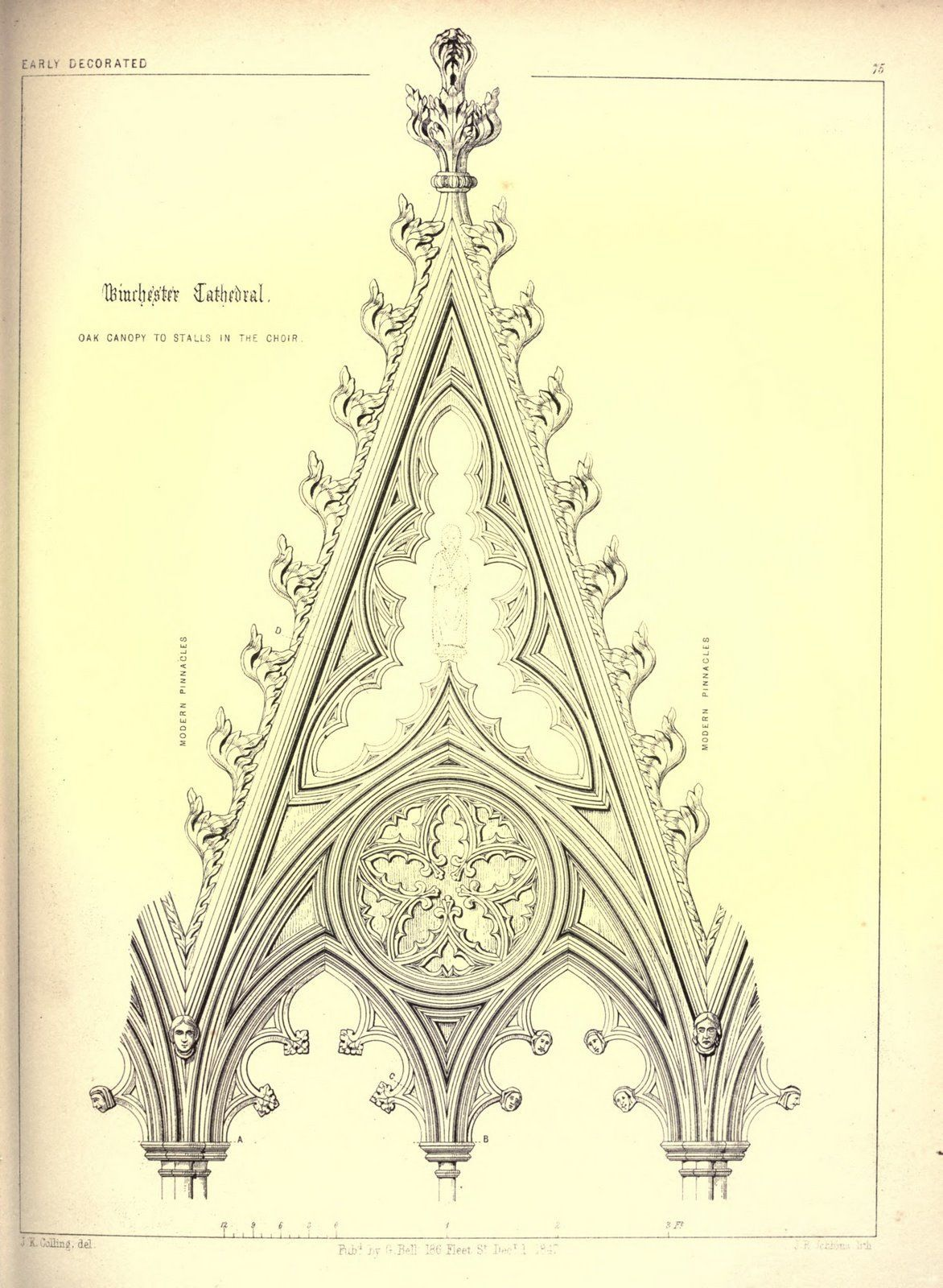 V Scans From Colling S Gothic Ornamentsfrom The Image Archive  # Barre Duque Muebles