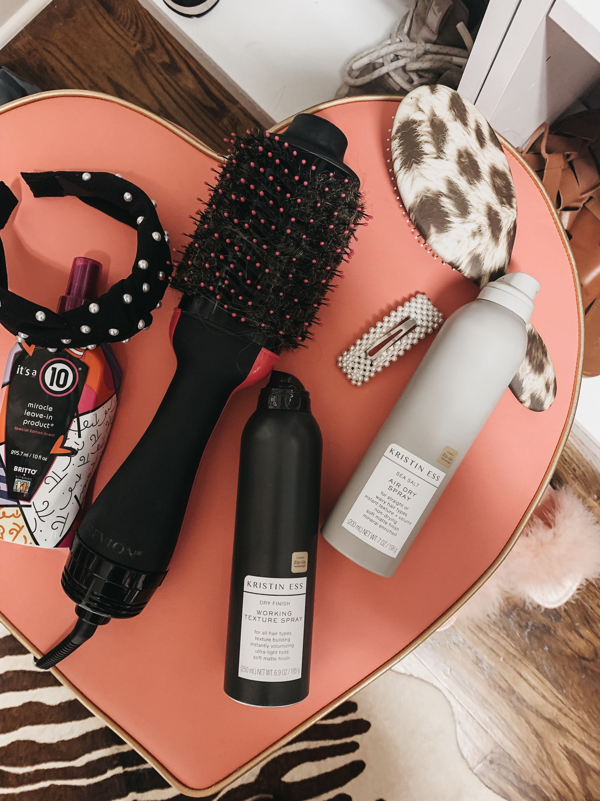how to do a blowout with revlon brush