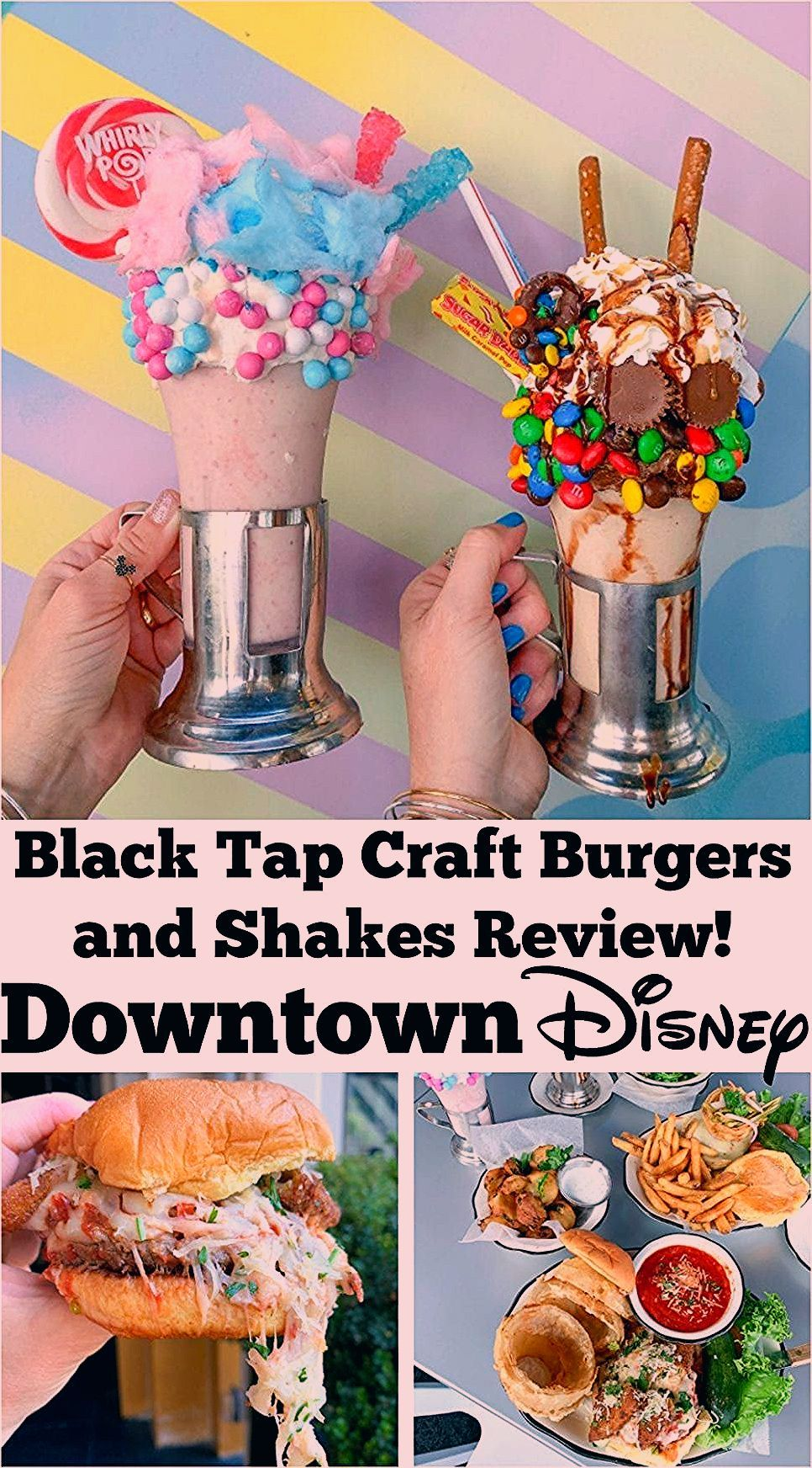 Photo of Black Tap Craft Burgers and Shakes Review Downtown Disney!