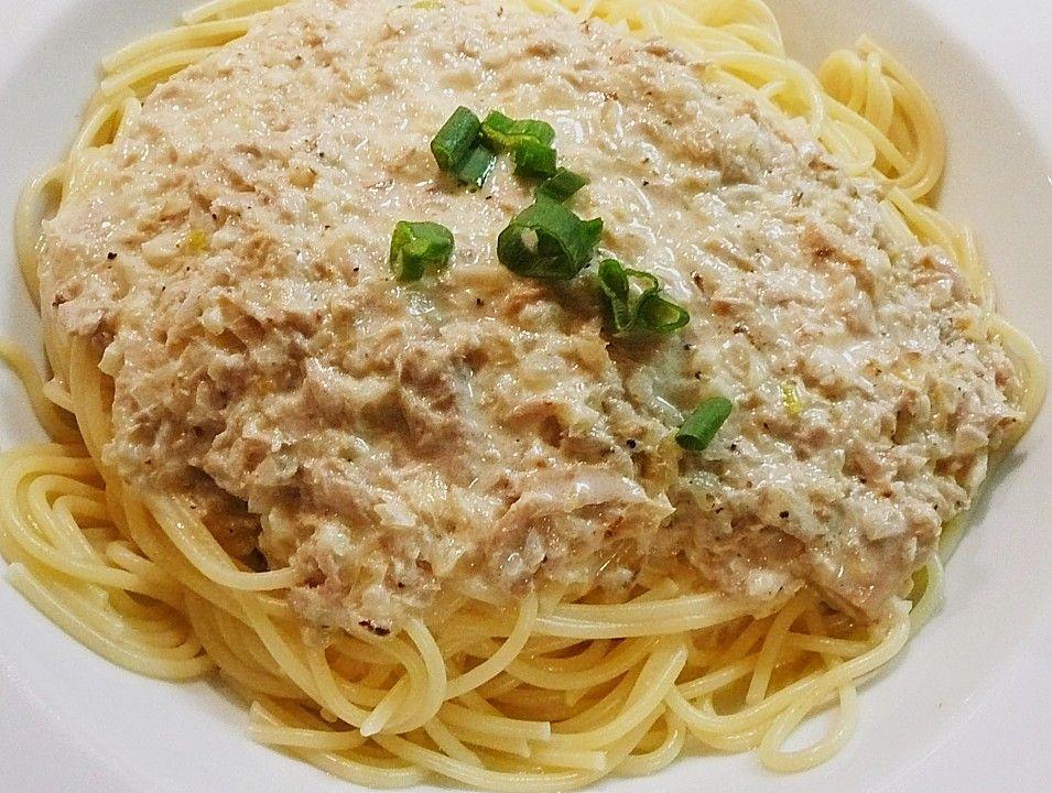 Photo of Spaghetti mit Thunfischsauce von zuckerpuppe6264 | Chefkoch