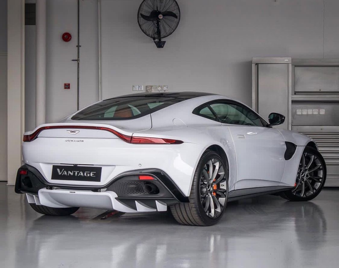 2018 Aston Martin Vantage #exoticcars