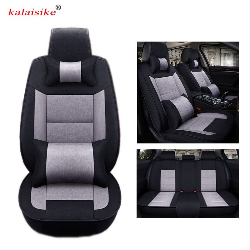 Kalaisike Flax Universal Car Seat Covers For Renault All Models