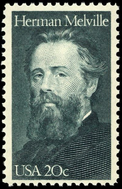 "Nov. 14, 1851: New York City born author Herman Melville's book ""Moby Dick"" was published. Issued 1984"