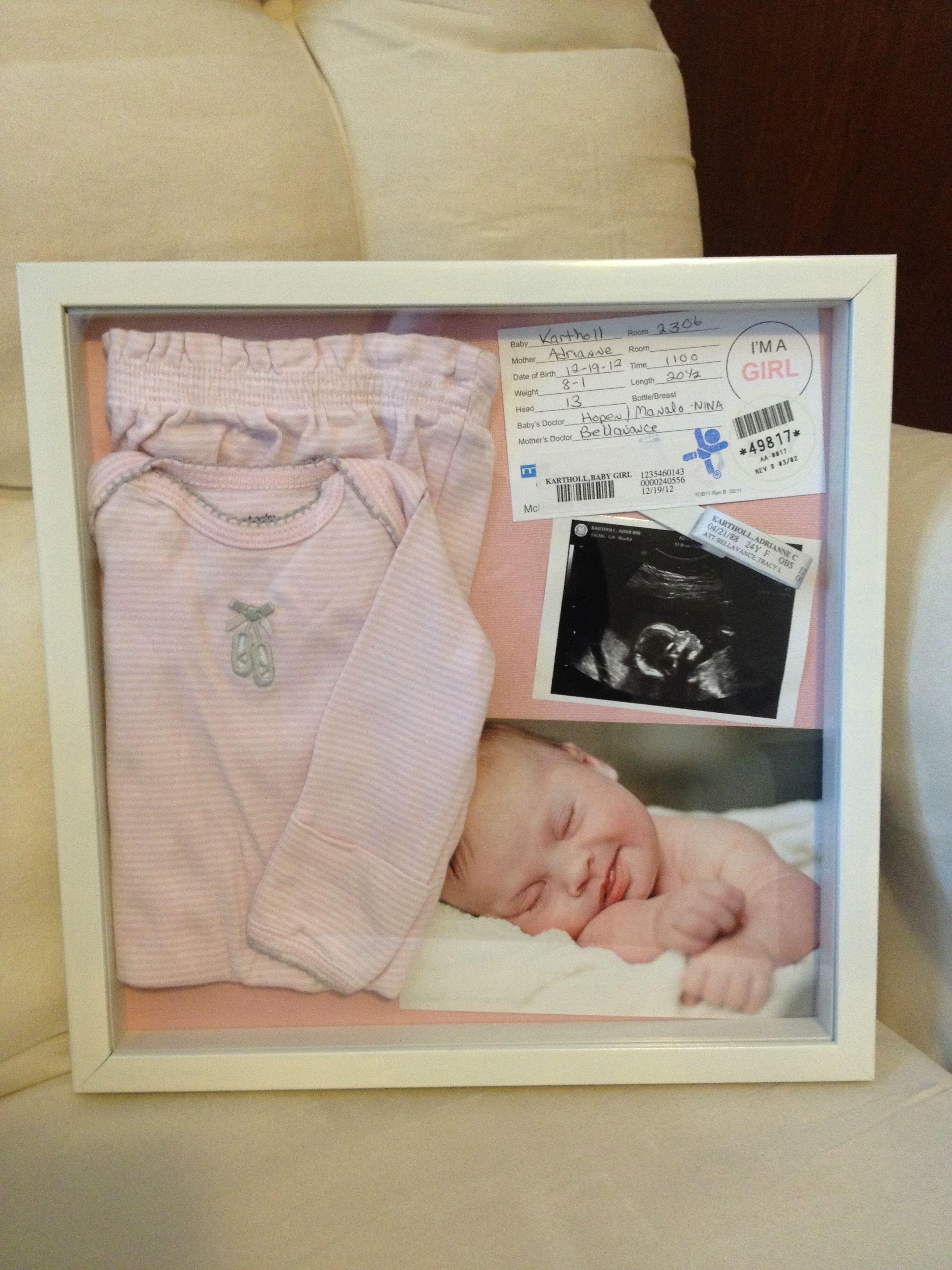 newborn memory box for my i collected keepsake items