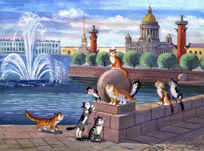 Санкт-петербург в картинках для детей, прелесть гифки веселые