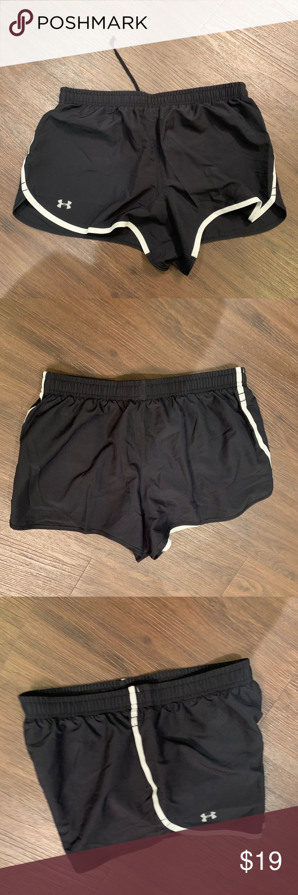 UNDER ARMOUR INFANT BOYS SUPER SOFT HEATGEAR ADJUSTABLE WASTE BAND SHORTS C SZ/'S