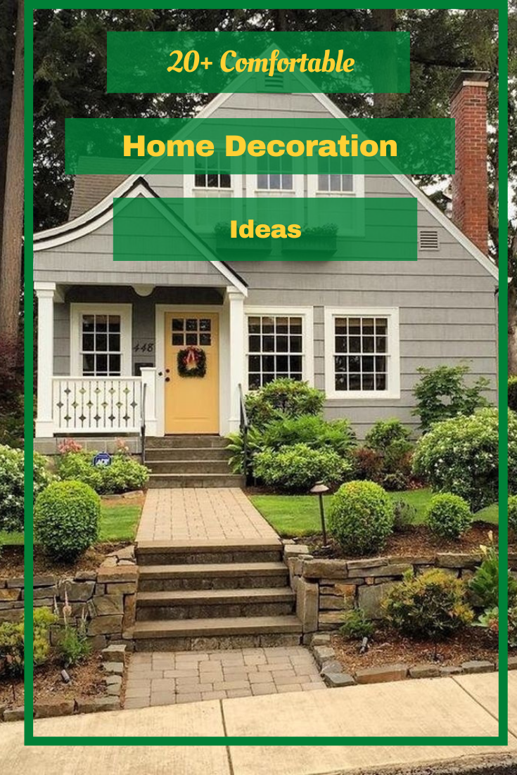 20+ Comfortable Home Decoration Ideas #home #homedecoration #homedecorationideas