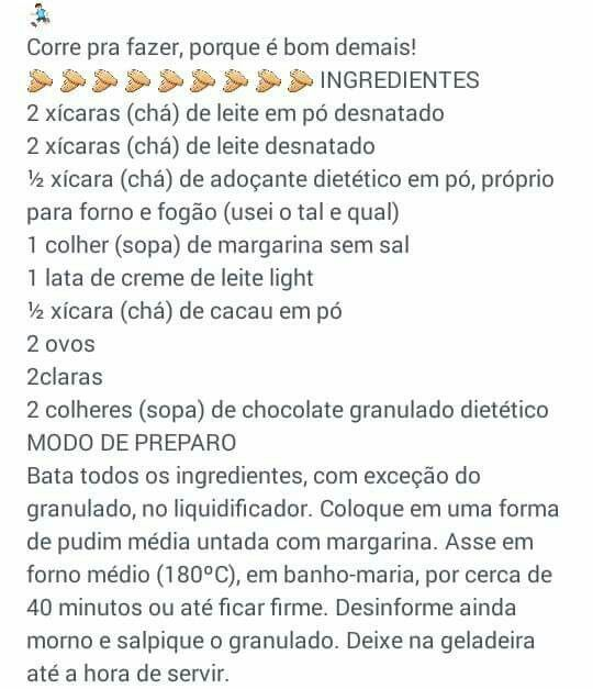 Brigadeirão Fit