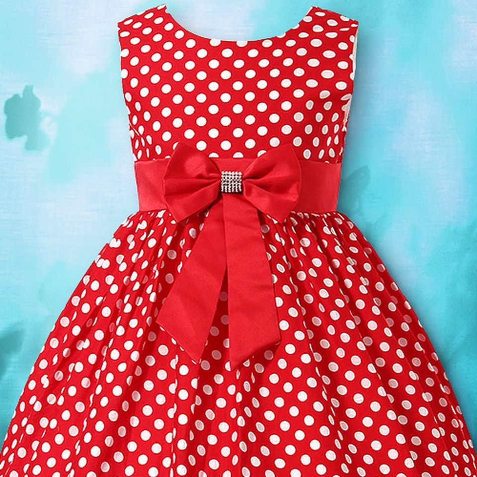 Shop baby girls' polka dot, coral and white, tintype, A-line dresses and more in a variety of polka dot styles in one place.