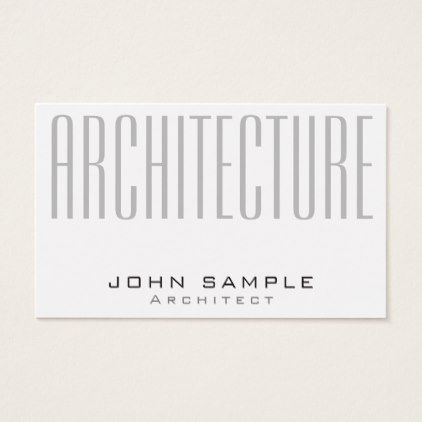 Creative Architecture Professional Luxury Silk Business Card   Trendy Gifts  Cool Gift Ideas Customize
