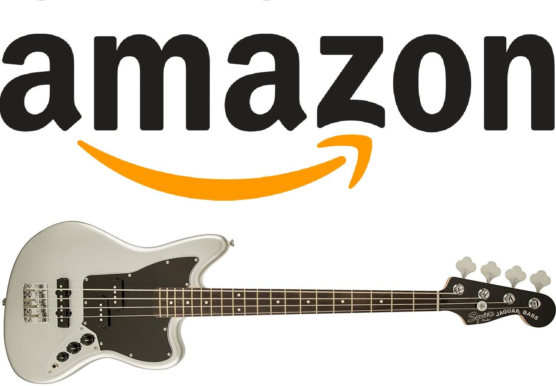 Squier By Fender Vintage Modified Jaguar Beginner Short Scale Electric Bass Guitar Silver Fender Vintage Squier Fender Squier