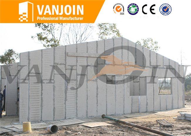 120mm Exterior Wall - Vanjoin Group Lightweight EPS Cement