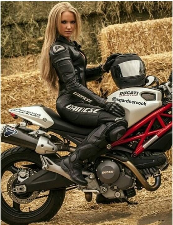 Sexy motorcycle girls