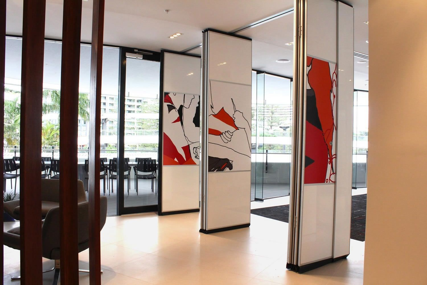 Acoustic Soundproof Interior Temporary Reduction Room Dividers Panels
