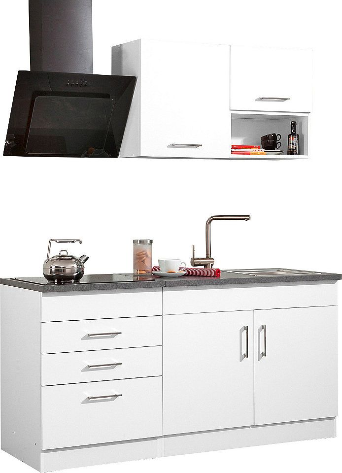 Held Möbel Küchenzeile mit E-Geräten »Haiti«, Breite 160 cm Jetzt ...