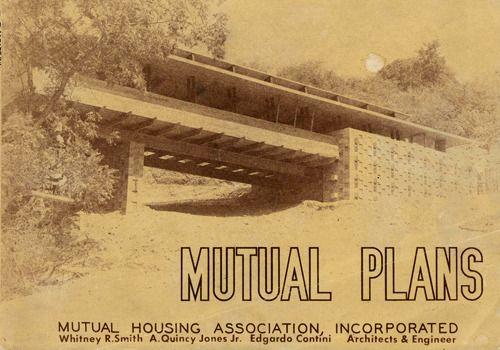 Mutual Housing Association Marketing Brochure Ca 1949 Crestwood Hills Los Angeles Ca A Quincy Jones With Quincy Jones Contemporary Photographers Quincy