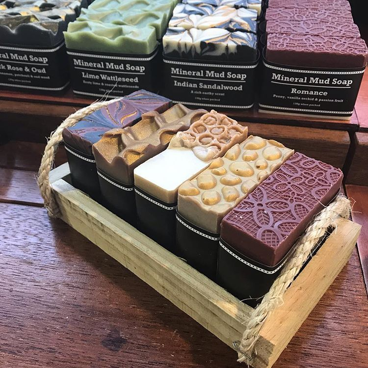 Grab a beautiful handmade gift @craftmarkets Red Hill Market #artisansoap #artisanal #handmade #handmadesoap #handmadesoapmelbourne… #soappackaging